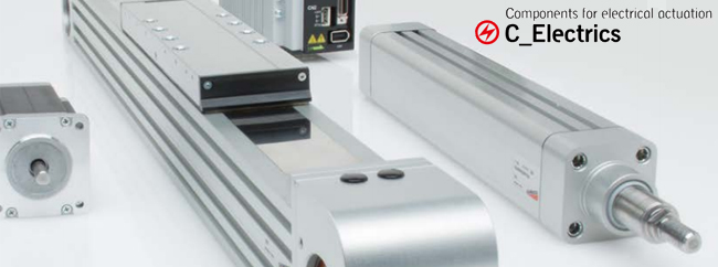 Camozzi Electric actuation for industrial automation