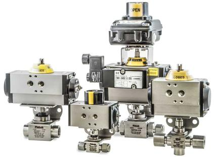 SSP Actuated Ball Valves