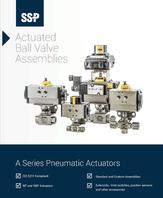 Actuated Ball Valve Catalog